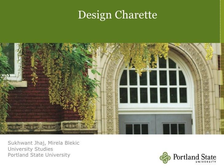 Design Charette Presentation