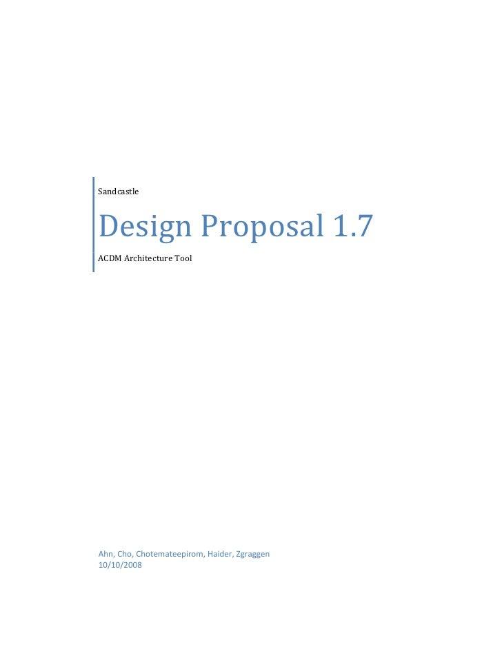 Design Proposal 1.7
