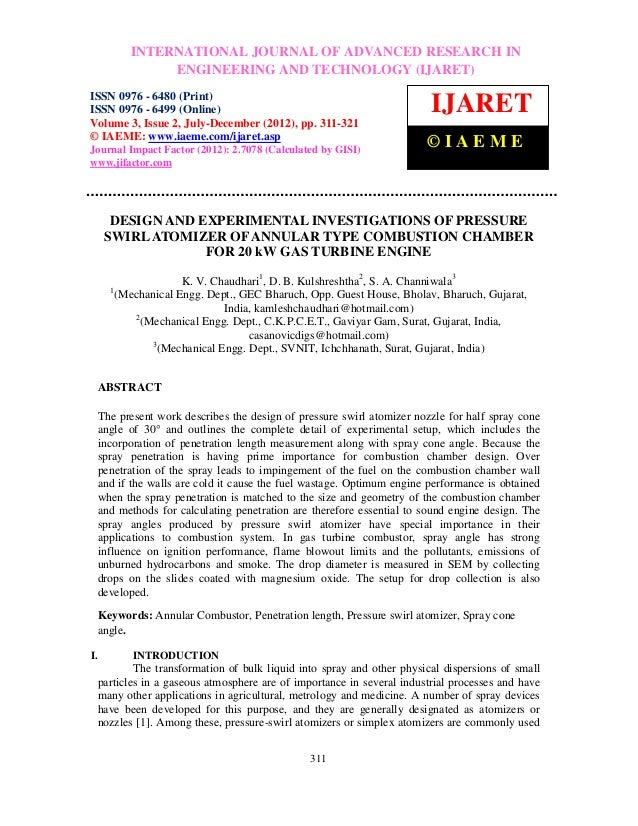 Design and experimental investigations of pressure