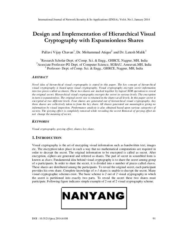 Design and implementation of hierarchical visual
