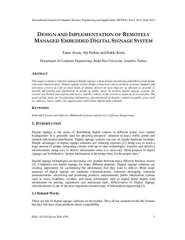 International Journal of Computer Science, Engineering and Applications (IJCSEA) Vol.4, No.3, June 2014 DOI : 10.5121/ijcs...