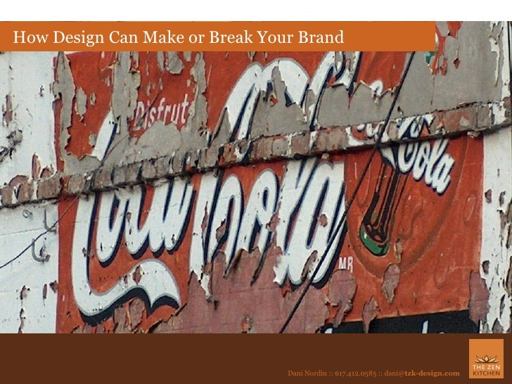 How Design Can Make or Break Your Brand