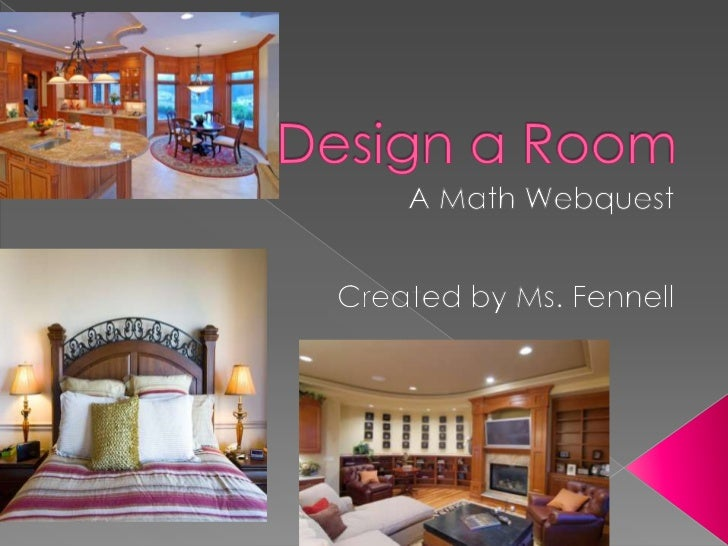 Design a room activity