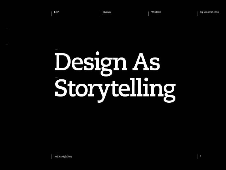 Jiří Močička: Design as Storytelling