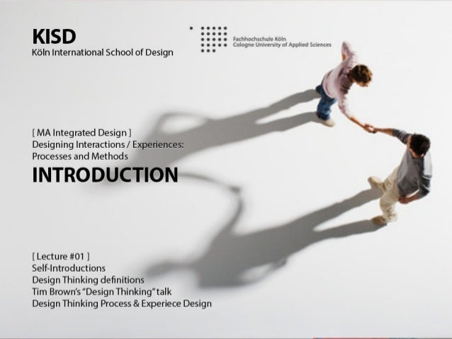 Designing Interactions 2013-2: Lecture #01