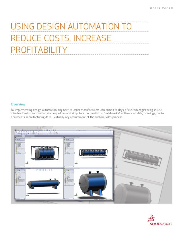 Using Design Automation to Reduce Costs and Increase Profitability
