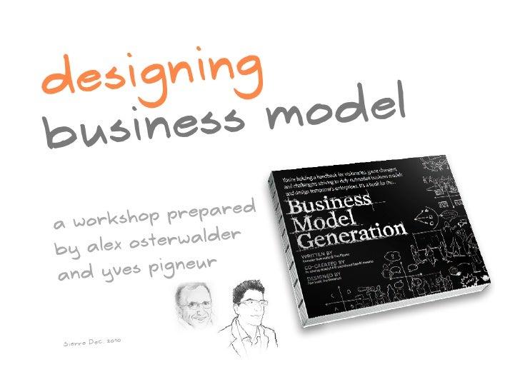 Designing Business Models