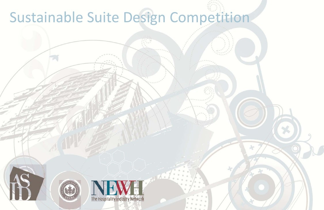 Sustainable Suite Design Competition Entry