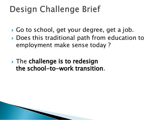 Design challenge brief   empathize and define