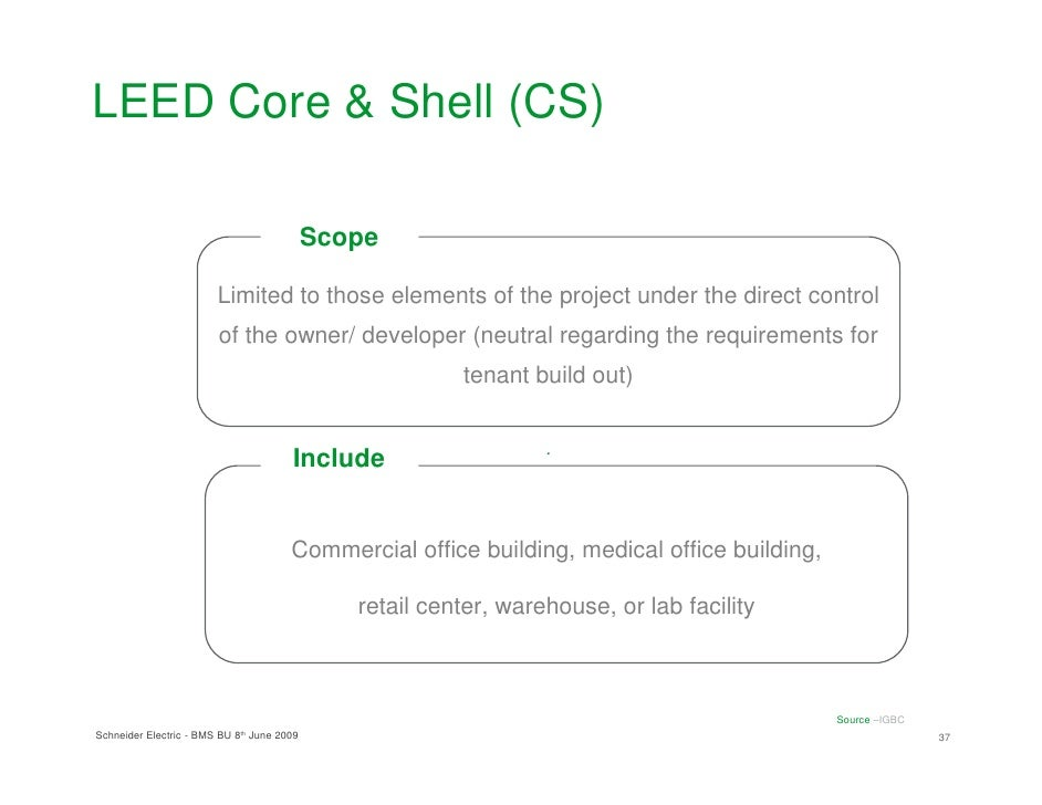 scope and limitation about commercial building