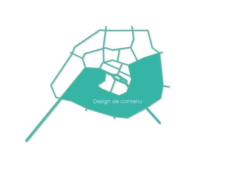 Design Contenus