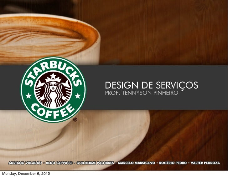 Design de Serviços - Hotel Starbucks