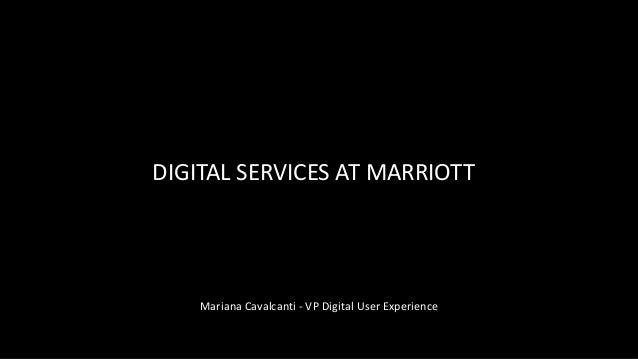 Design de serviços digitais - Mariana Cavalcanti