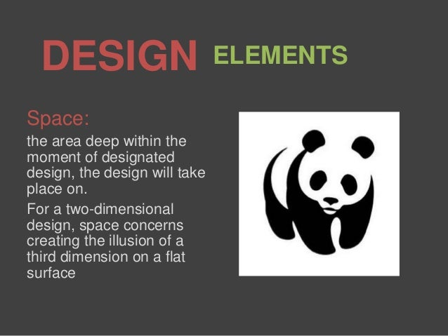 Space Principle Of Design : Design elements and principles