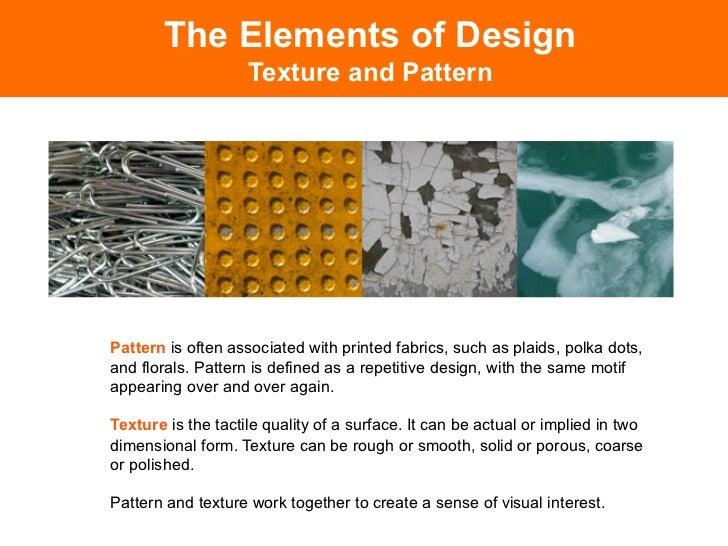 Define Elements Of Design : Elements of design