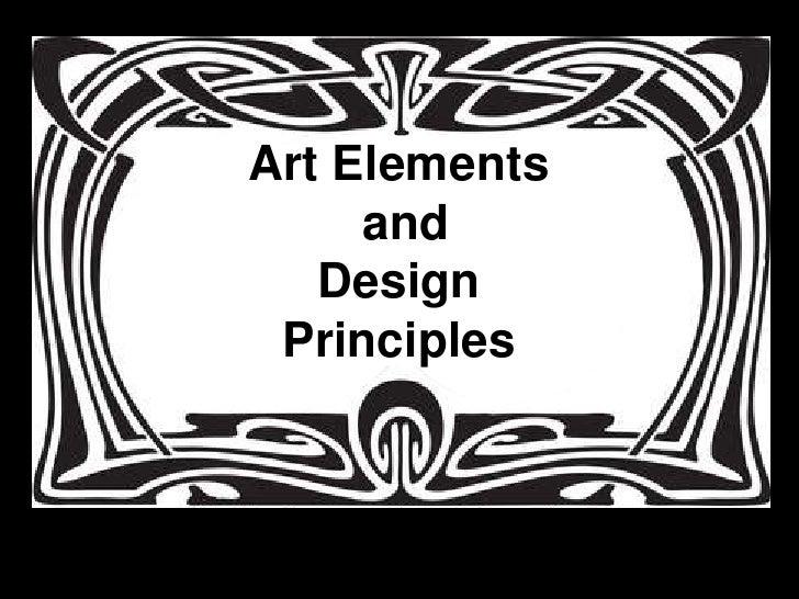 Art Elements and Design Principles