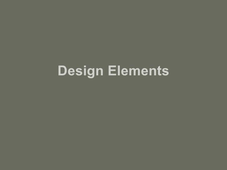 Designelements+principles