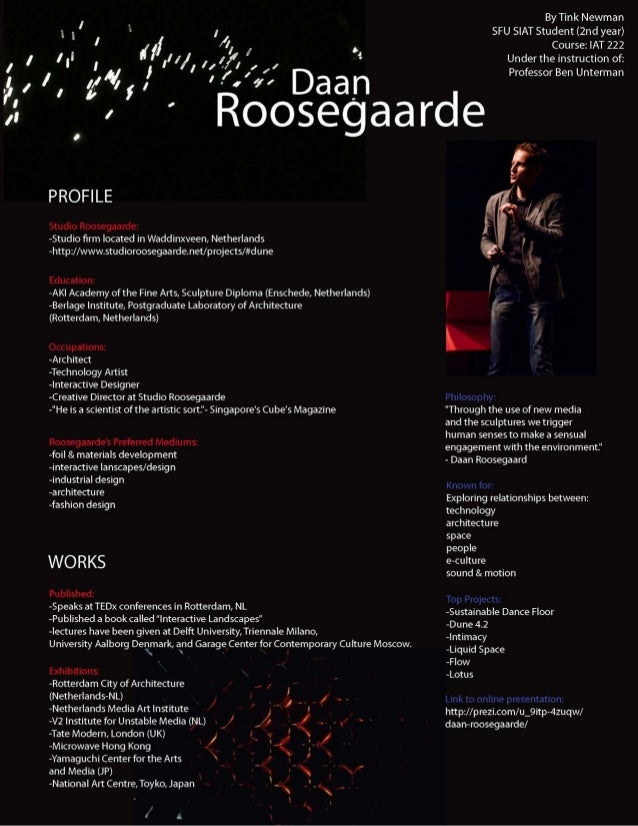 Designer Profile: Dan Roosegaarde
