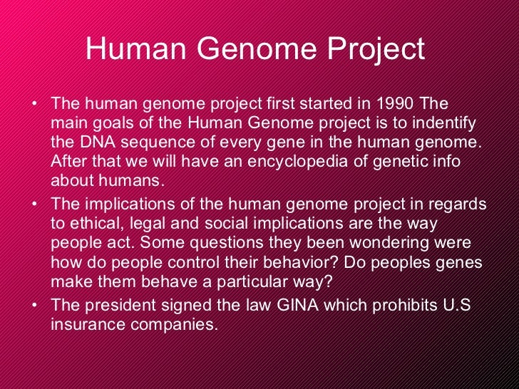 the human genome project essay