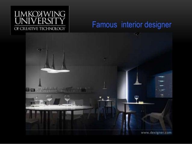Famous interior designer
