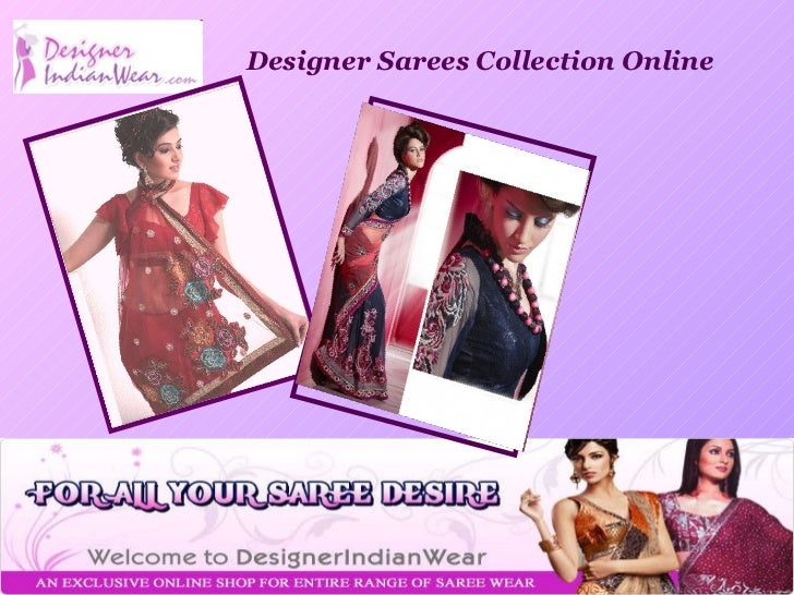 Designer Sarees Collection Online