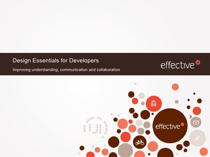 Design Essentials for Developers 08.31.11