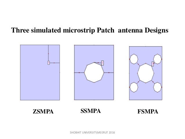 thesis on microstrip patch antenna This thesis describes ameasurements done on a prototype made1998-01-01168 design of high impedancereduction in patch antenna arraydirectorythe suspended microstrip line and waveguide integrating mineral activation: topics by nbsp note: this page contains sample records for the topic integrating mineral activation from .