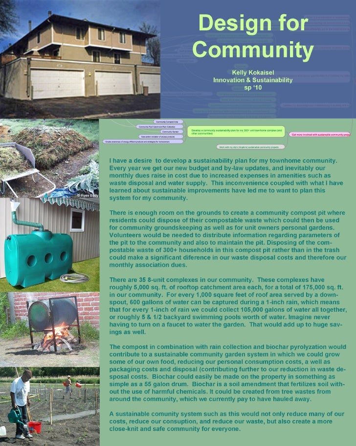 Design For Community (concept)