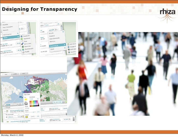 Designing For Transparency