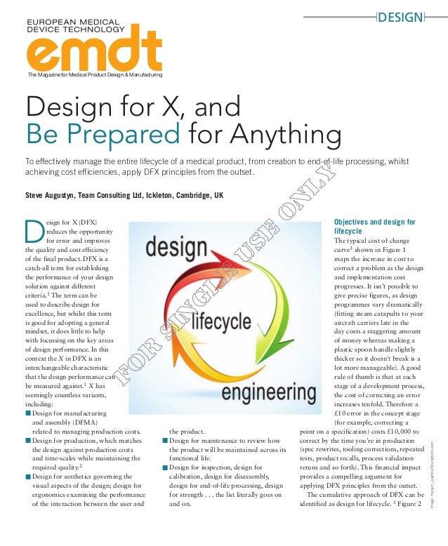 designThe Magazine for Medical Product Design & ManufacturingImage:Yevgen_Lyashko/iStockphoto.comSteve Augustyn, Team Cons...