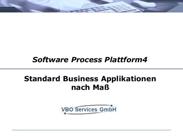 """Design & Generate"": Standard ERP Systeme nach Mass"