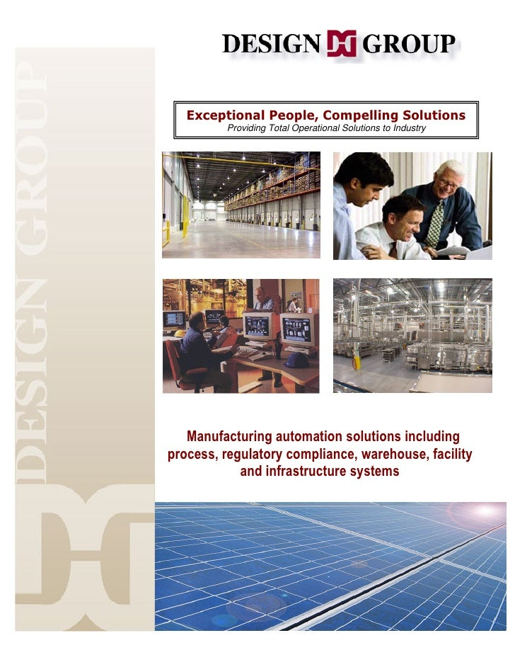 Design Group Overview For Solar