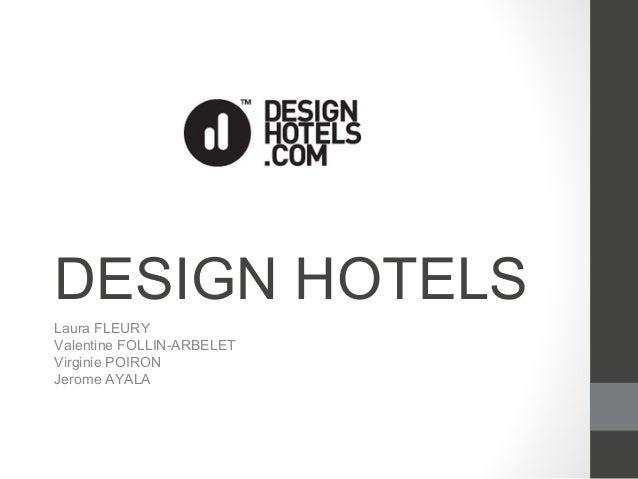 Designhotels.com presentation