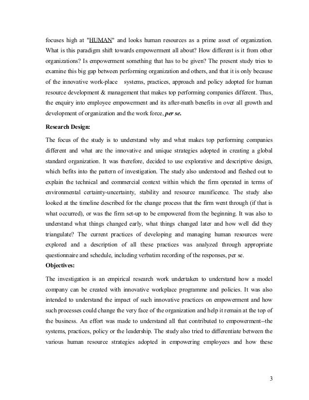 Research paper on hrm pdf