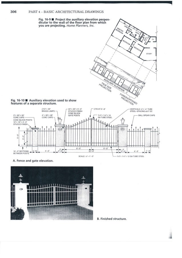 how to draw interior elevations