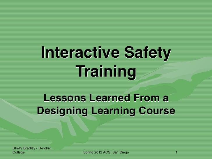 Designing learning