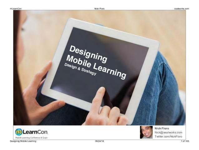 Designing Mobile Learning