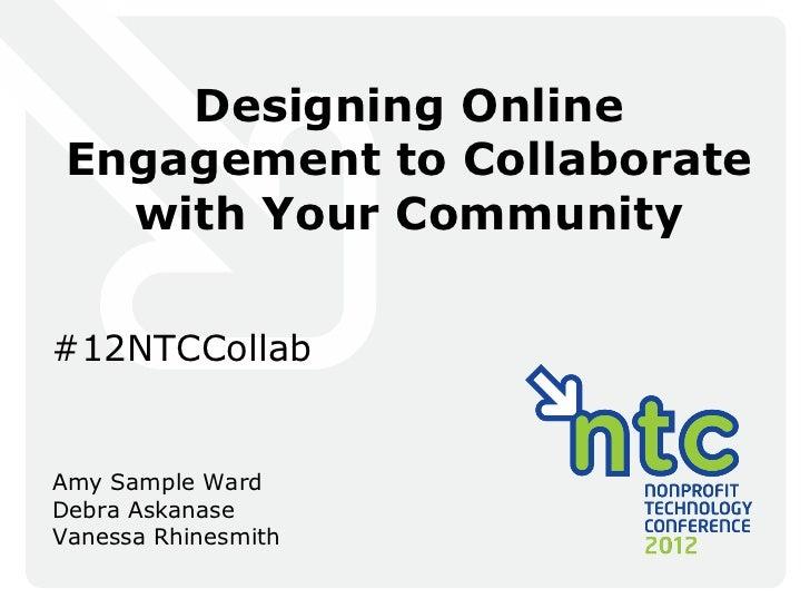 Designing Online Engagement for Collaboration
