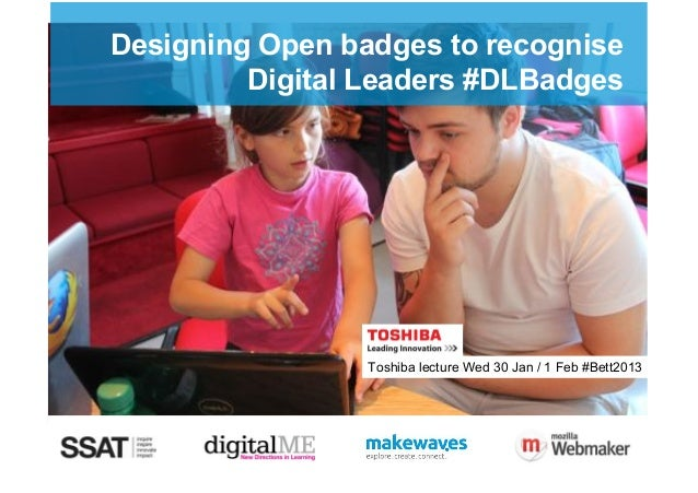 Designing open badges to recongise digital leaders