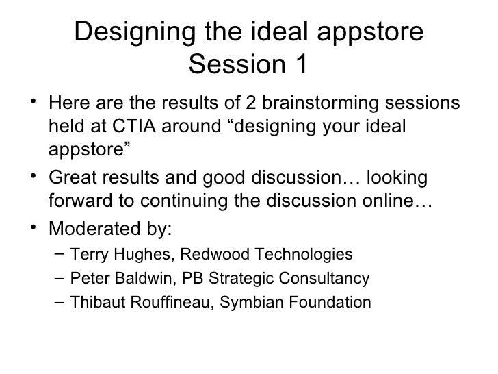 Designing The Ideal Appstore Wip Jam Ctia