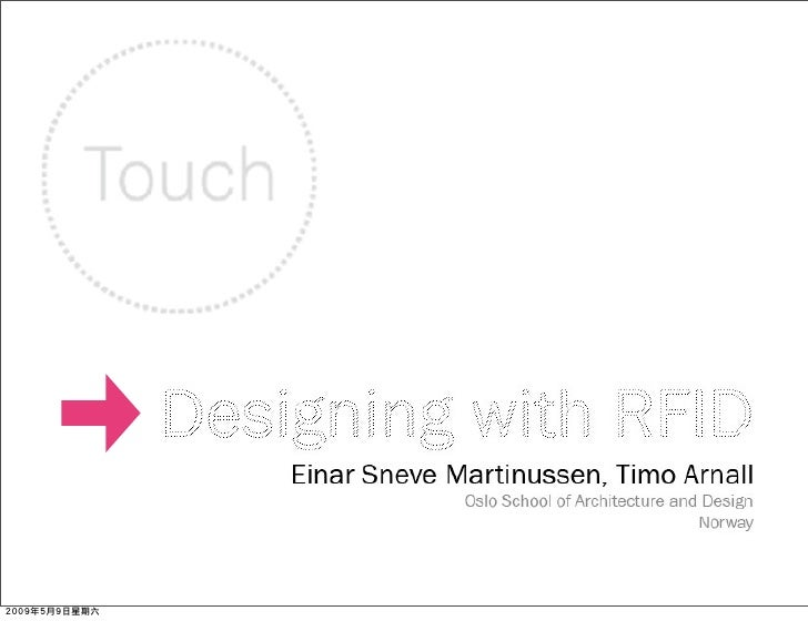 Designing With RFID