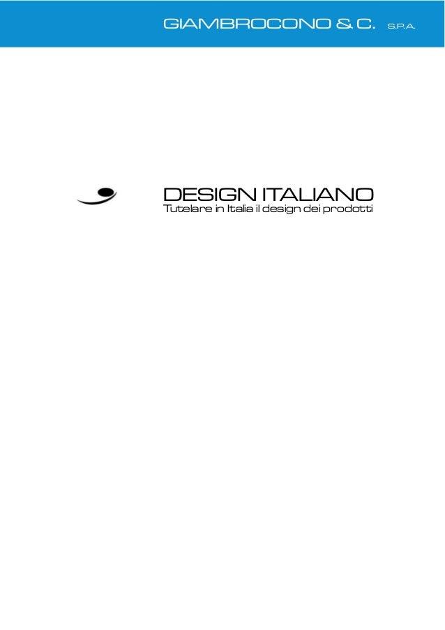 Design italiano memorandum for Design italiano