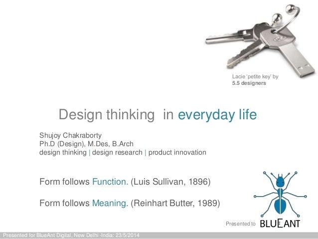 Design Logic for BlueAnt Digital Talks