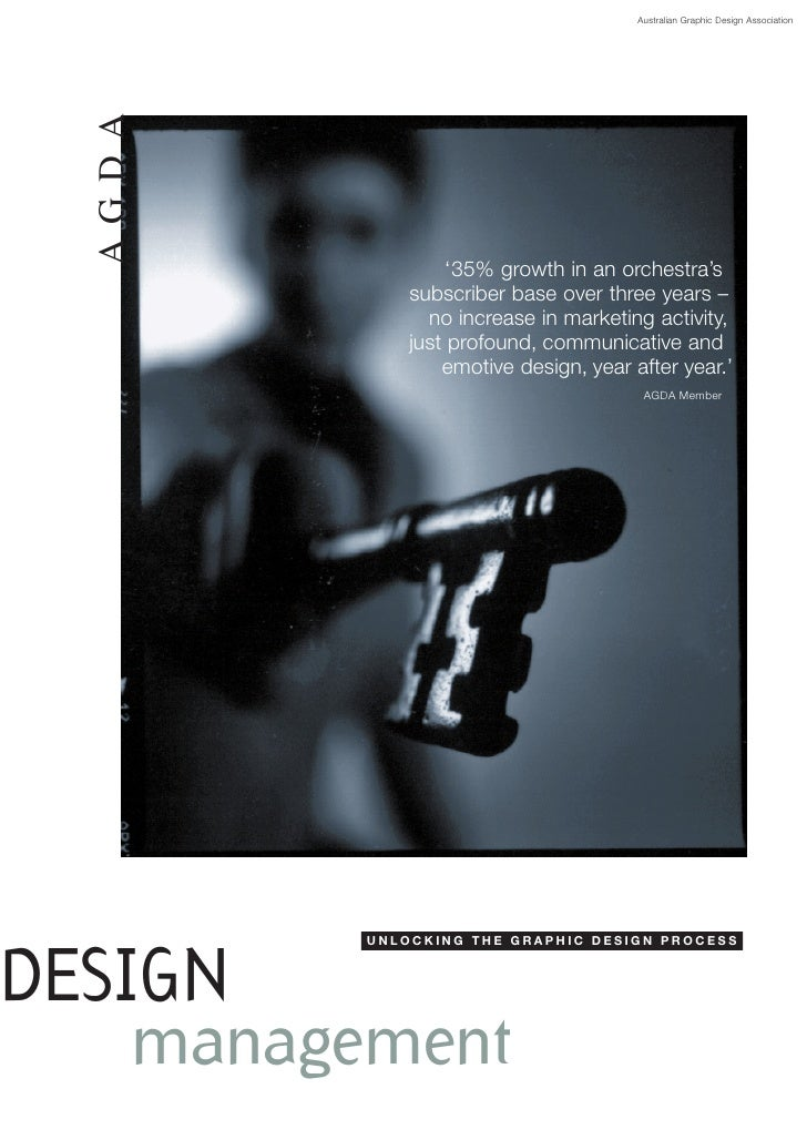 Australian Graphic Design Association       AG D A                       '35% growth in an orchestra's                subs...