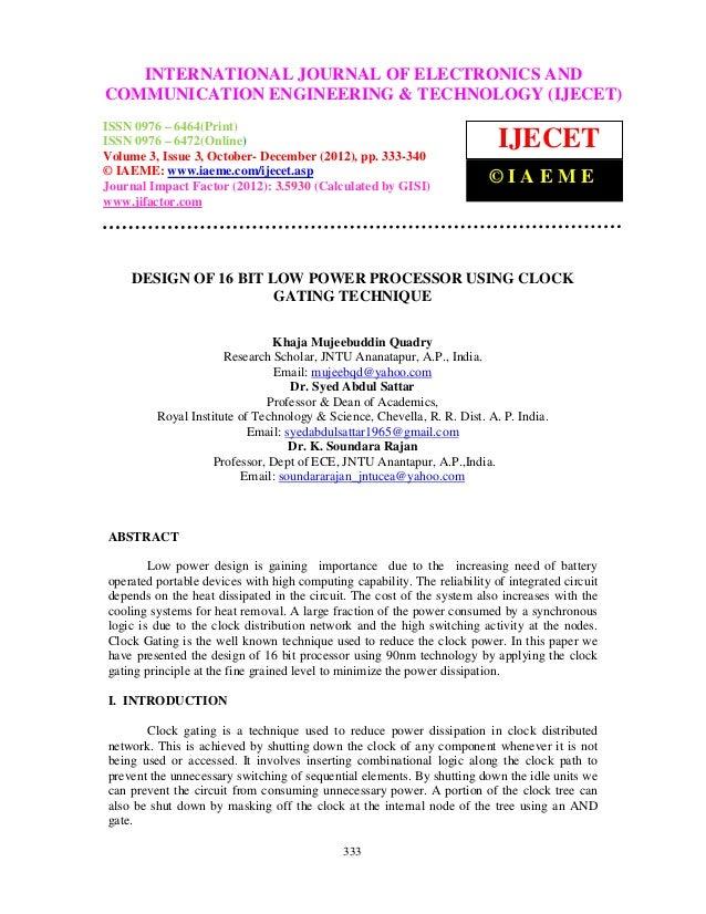 INTERNATIONAL JOURNAL OF ELECTRONICS ANDInternational Journal of Electronics and Communication Engineering & Technology (I...