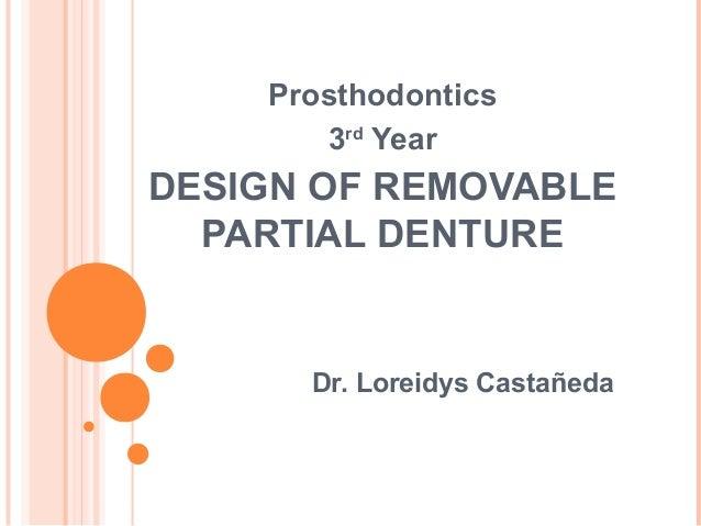 acrylic partial denture design pdf