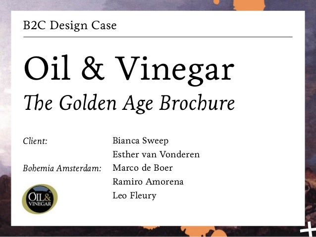 B2C Design Oil & Vinegar