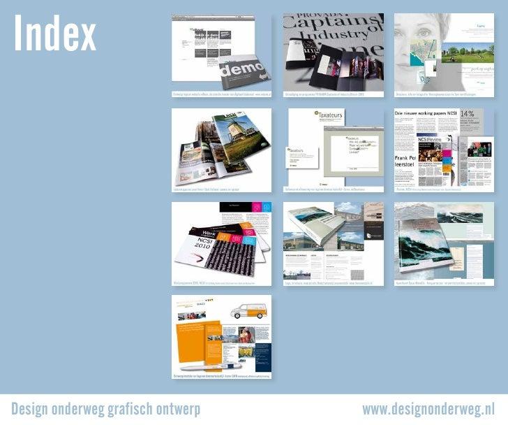 IndexDesign onderweg grafisch ontwerp   www.designonderweg.nl