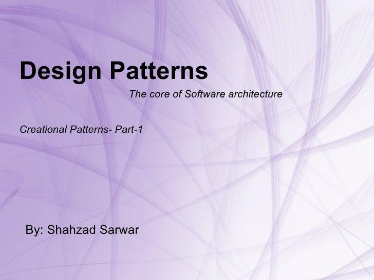 Design Pattern For C# Part 1