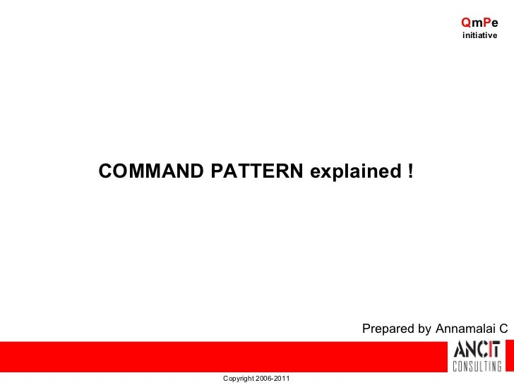 QmPe                                               initiativeCOMMAND PATTERN explained !                                Pr...